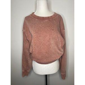 Zara Basic Pink Pullover Sweater Casual Women's